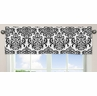 Black and White Isabella Girls Window Valance by Sweet Jojo Designs