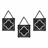 Black and White Trellis Wall Hanging Accessories by Sweet Jojo Designs
