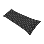 Black and White Woodland Arrow Body Pillow Case Cover for Rustic Patch Collection by Sweet Jojo Designs (Pillow Not Included)