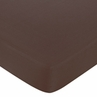 Blue and Brown Hotel Fitted Crib Sheet for Baby and Toddler Bedding Sets by Sweet Jojo Designs - Solid Brown