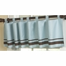 Blue and Brown Hotel Window Valance by Sweet Jojo Designs