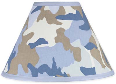 Blue And Khaki Camo Army Military Camouflage Lamp Shade By Sweet Jojo  Designs Only $11.00