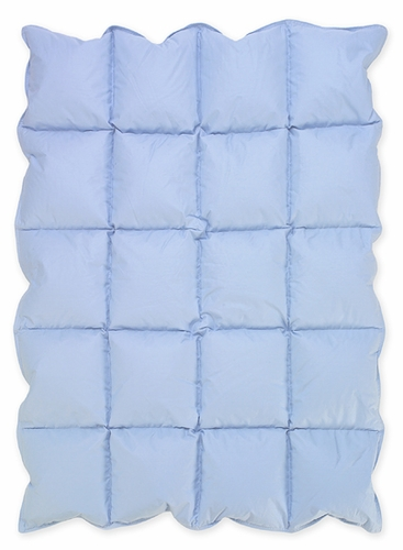 blue baby crib down alternative comforter blanket click to enlarge