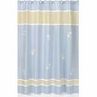 Blue Dragonfly Dreams Kids Bathroom Fabric Bath Shower Curtain
