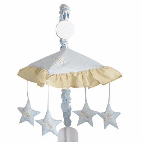 Blue Dragonfly Dreams Musical Crib Mobile - Click to enlarge