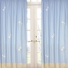 Blue Dragonfly Dreams Window Treatment Panels - Set of 2