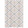 Blush Pink and Grey Boho Bathroom Fabric Bath Shower Curtain for Aztec Collection by Sweet Jojo Designs