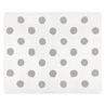Blush Pink, Grey and White Accent Floor Rug or Bath Mat for Watercolor Floral Collection by Sweet Jojo Designs