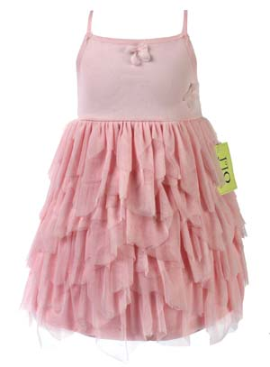 Boutique Pink Layered Party Dress by Sweet Jojo Designs - Click to enlarge