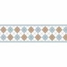 Brown and Blue Argyle Baby and Kids Wall Border by Sweet Jojo Designs