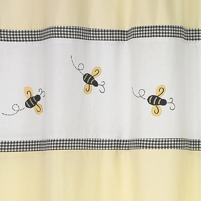 Bumble Bee Kids Bathroom Fabric Bath Shower Curtain Only 3999