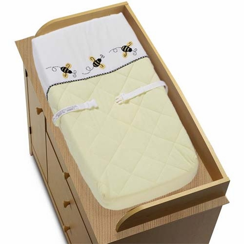 Bumblebee Changing Pad Cover - Click to enlarge