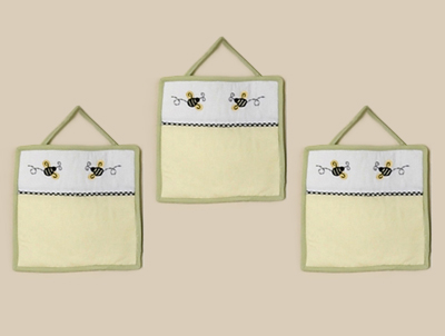 Bumblebee Wall Hanging Accessories by Sweet Jojo Designs - Click to enlarge