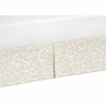 Champagne and Ivory Jacquard Crib Bed Skirt for Victoria�Baby Bedding Sets by Sweet Jojo Designs