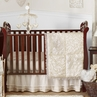 Champagne and Ivory Victoria Baby Bedding - 11pc Crib Set by Sweet Jojo Designs