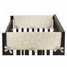Champagne and Ivory Victoria Baby Crib Side Rail Guard Covers by Sweet Jojo Designs - Set of 2