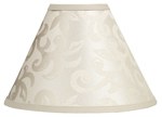 Champagne and Ivory Victoria Lamp Shade by Sweet Jojo Designs
