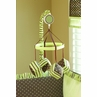 Chocolate Mint Musical Baby Crib Mobile