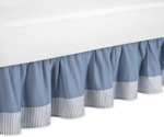 Come Sail Away Nautical Bed Skirt for Toddler Set by Sweet Jojo Designs