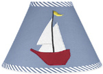 Come Sail Away Nautical Lamp Shade