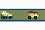 Construction Zone Baby and Childrens Trucks Wall Border by Sweet Jojo Designs
