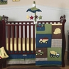 Construction Zone Baby Bedding - 11pc Crib Set