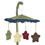 Construction Zone Musical Baby Crib Mobile by Sweet Jojo Designs
