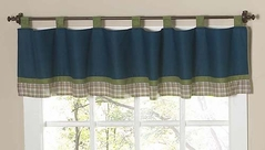 Construction Zone Window Valance by Sweet Jojo Designs