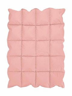 Coral Baby Crib Down Alternative Comforter / Blanket
