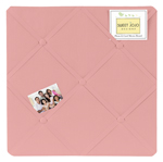 Coral Fabric Memory/Memo Photo Bulletin Board by Sweet Jojo Designs