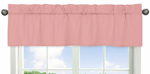 Coral Window Valance by Sweet Jojo Designs - Click to enlarge