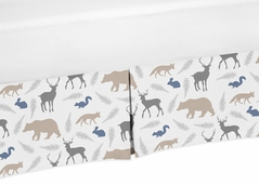 Crib Bed Skirt for Woodland Animals�Baby Bedding Sets by Sweet Jojo Designs