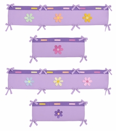 Danielle's Daisies Collection Crib Bumper by Sweet Jojo Designs