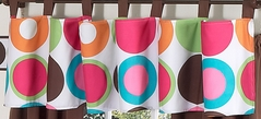 Deco Dot Modern Window Valance by Sweet Jojo Designs
