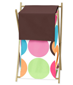 Deco Dot Modern Childrens Kids Clothes Laundry Hamper by Sweet Jojo Designs