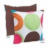 Deco Dot Modern Decorative Accent Throw Pillow