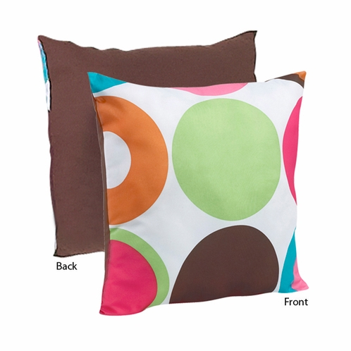 Deco Dot Modern Decorative Accent Throw Pillow - Click to enlarge