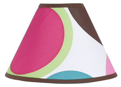 Deco Dot Modern Lamp Shade by Sweet Jojo Designs - Click to enlarge
