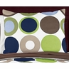 Designer Dot Modern Girls Pillow Sham by Sweet Jojo Designs