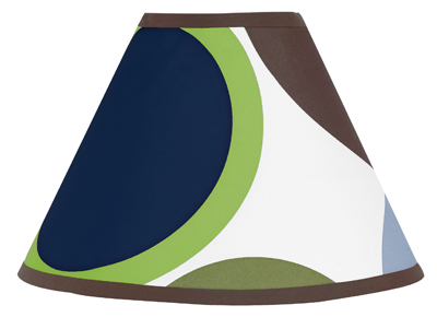Designer Dot Modern Lamp Shade by Sweet Jojo Designs - Click to enlarge