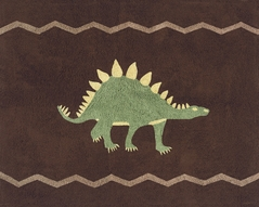 Dinosaur Accent Floor Rug