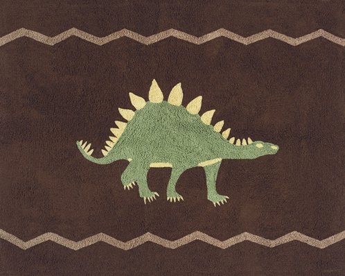 Dinosaur Accent Floor Rug - Click to enlarge