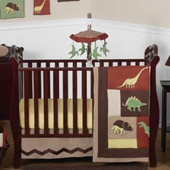 Dinosaur Baby Bedding - 11pc Crib Set by Sweet Jojo Designs