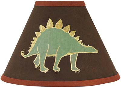 Dinosaur Lamp Shade by Sweet Jojo Designs - Click to enlarge