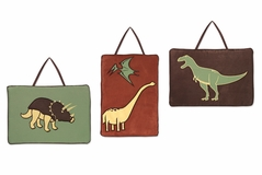 Dinosaur Wall Hanging Accessories by Sweet Jojo Designs