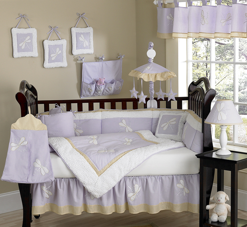 Finest Lace, Satin and Tulle Baby Bedding SZ81