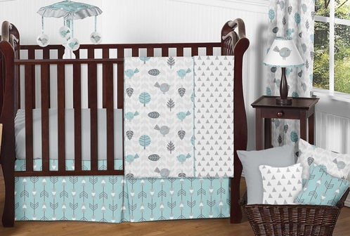 Earth And Sky Baby Bedding 11pc Crib Set By Sweet Jojo