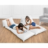 Triangle Print Earth and Sky Collection Kids Teen Floor Pillow Case Lounger Cushion Cover