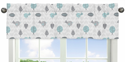 Earth and Sky�Collection Window Valance by Sweet Jojo Designs - Click to enlarge