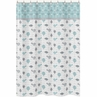 Earth and Sky Kids Bathroom Fabric Bath Shower Curtain by Sweet Jojo Designs